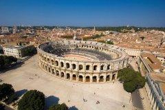 Les arènes de Nîmes. (© L. Boudereaux / Culturespaces)