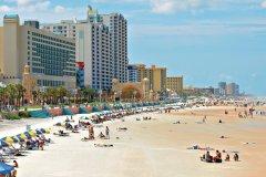 Plage de Daytona Beach. (© Tom Hirtreiter - Fotolia)