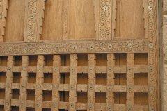 Porte typique de l'architecture tombouctienne (© Morgane VESLIN)