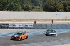 Le drift c'est trajectoire, vitesse et style! (© Laurent BOSCHERO)