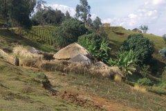 Un rugo typique dans le Mugamba. (© Christine DESLAURIER)