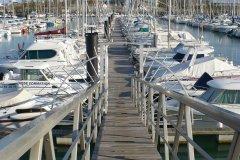 Le port de plaisance des Sables d'Olonne (© Linda CASTAGNIE)