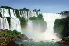 Chutes d'Iguazú en Argentine. (© Galina Barskaya - Fotolia)