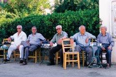 Kafeneion à Elounda. (© Author's Image)