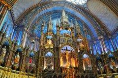 Basilique Notre-Dame de Montreal. (© jiawangkun - Shutterstock.com)