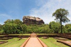Rocher de Sigiriya. (© proxyminder)