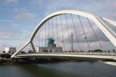 Pont de la Barqueta. (© Stéphan SZEREMETA)