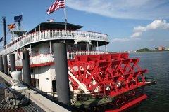 Bateau à vapeur, La Nouvelle-Orléans. (© temis)