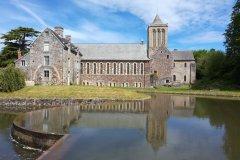 Vue sur l'Abbaye de La Lucerne. (© Abbaye de La Lucerne)