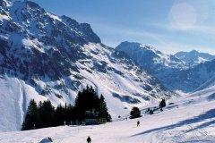 Pistes enneigées - Domaine skiable de Barèges (© PHOVOIR)