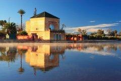 Jardin Ménara à Marrakech. (© Adej ZUPANCIC - iStockPhoto)