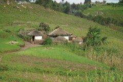 Un rugo typique dans le Mugamba. (© Julia GASQUET)