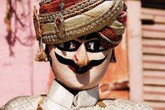 Les marionnettes (Katputli) servaient à colporter les légendes locales. (© Nicolas HONOREZ)