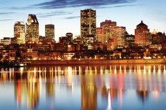 Vue sur Montréal depuis le Parc Jean-Drapeau. (© Tourisme Montréal)