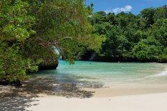 La superbe crique de Frenchman's Cove. (© Chloé OBARA)