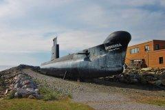 Sous-marin Onondaga au Site historique maritime de la Pointe-au-Père. (© Valérie Fortier)