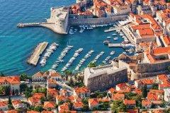 Vue sur la vieille ville de Dubrovnik. (© Rognar - iStockphoto)