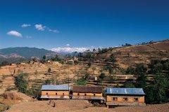 Paysage de Nagarkot. (© Author's Image)