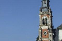 L'église de Menetou-Salon. (© Laëtitia STEIMETZ)