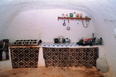 Intérieur d'une maison troglodytique de Matmata. (© Author's Image)
