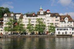 Vieilles maison de Zurich. (© iStockphoto.com/tekinturkdogan)