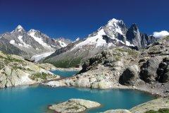 Le lac Blanc près de Chamonix (© Macumazahn - iStockphoto.com)