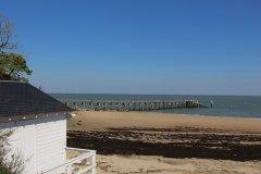 Estacade de la plage des Dames. (© Linda CASTAGNIE)