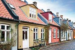 Petites maisons d'Aarhus. (© xavierarnau)