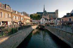 Le quartier Saint-Leu - Amiens (© Alonbou - Fotolia)