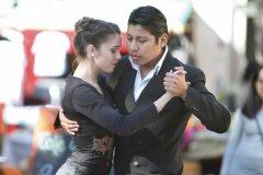 Danseurs de tango à la Feria de San Telmo (© Stéphan SZEREMETA)