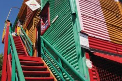 Maisons colorées du Caminito, quartier de la Boca. (© Maxime DRAY)