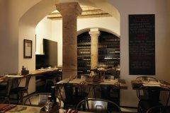 Salle du restaurant Obicà. (© Yann LE RAZER)