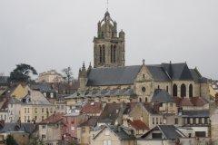 Le vieux Pontoise depuis l'ancien château (© Marie BERTIER)
