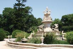 Fontaine du Jardim Botânico de Ajuda. (© Stéphan SZEREMETA)