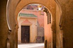 Dans les ruelles de la médina de Marrakech. (© RafalBelzowski)