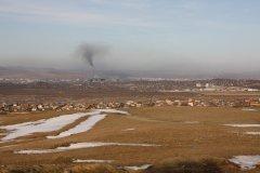 Pollution à Oulan-Bator. (© Maxence Gorréguès)