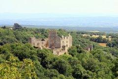 Le château de Saissac. (© Timbobaggins - Shutterstock.com)