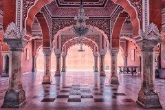 Intérieur du City Palace à Jaipur. (© manjik - Shutterstock.com)