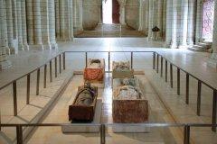 Gisants de l'Abbaye Royale de Fontevraud. (© Abbaye Royale de Fontevraud)