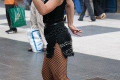 Spectacle de tango en pleine rue, sur la Calle Florida. (© Maxence Gorréguès)