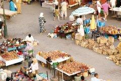 La place du marché aux épices, dans la médina. (© Sébastien CAILLEUX)