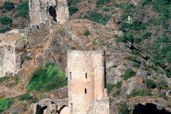 Deux des quatre châteaux de Lastours (© IRÈNE ALASTRUEY - AUTHOR'S IMAGE)