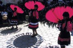 Danses du Beni lors de la fête de la Vierge d'Urkupiña à Quillacollo. (© Thierry Lauzun - Iconotec)