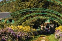 Le jardin et la maison Claude Monet à Giverny (© Ladybird - Fotolia)