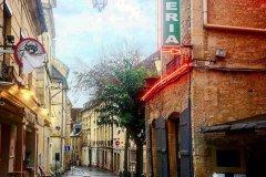 Dans les rues de Caen. (© Anne CROCHARD)