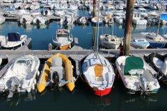 Port de l'Herbaudière, île de Noirmoutier. (© Linda CASTAGNIE)