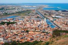 Vue de Sète depuis le Mont Saint-Clair. (© P. Eoche / GO Premium / GraphicObsession)