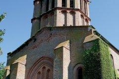 L'église Saint-Sauveur de Castelsarrasin (© PHOVOIR)
