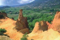 Colorado de Rustrel (© VALÉRY D'AMBOISE)