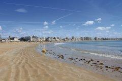 La plage et le remblai des Sables d'Olonne (© Thomas Pajot - Fotolia)